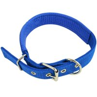 Nylon Padded Dog Pet Collars Neck Protection Safe Collar For Small Medium Large Dogs