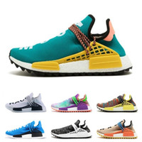 Wholesale discount man winter boot online - Cheap NMD Online Human Race Pharrell Williams X HU NMD women men Sports Running Shoes discount Cheap Athletic mens Shoes free ship