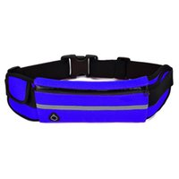 ingrosso nuovi accessori per cellulari-New Outdoor Running Marsupio Safety Safety Jogging Belt Cycling Cellphone Pack Palestra Fitness Bag Sport Accessori