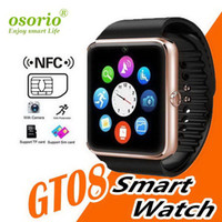 Wholesale tracker c resale online - No kid GT08 smart watch smartwatch with SIM Card Slot DZ09 A1 U8 Health Watchs for Android Samsung and IOS iphone phone watches C BS