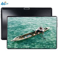 ingrosso g tablet cinese-Compresse GPS con schermo in vetro 2.5D Android 9.0 Octa Core Ram 6GB ROM 64GB 10.1 pollici 5MP Dual SIM Tablet PC Wifi GPS bluetooth