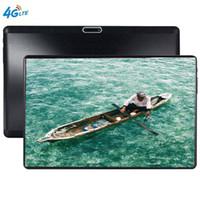 ingrosso compresse-Compresse GPS con schermo in vetro 2.5D Android 9.0 Octa Core Ram 6GB ROM 64GB 10.1 pollici 5MP Dual SIM Tablet PC Wifi GPS bluetooth