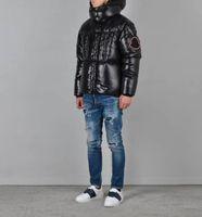 Wholesale velvet for sale resale online - 2019 Hot sale Canada Warm Manteau Fur Hooded Thick Winter Men Goose Down Jacket for Canada Male Chaquetas Overcoat Man Outwear Parka