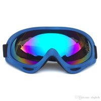 bike sonnenbrille uv großhandel-X400 UV Tactical Bike Goggles Skifahren Skating Brillen Sonnenbrillen Winddicht Staubdicht Mit Gummiband Radfahren Eyewear A365