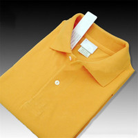 orange polo-stil hemden großhandel-Marke Designer Sommer Polo Shirt Stickerei Herren Polo T Shirts Mode Stil Shirt für Männer Frauen High Street Top T