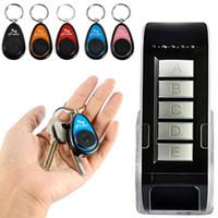 fernempfänger großhandel-Drahtlose Fernbedienung Smart Key Finder mit 5 Empfängern Elektronische Locator Schlüsselanhänger Einfach finden Verlorene Schlüssel Brieftasche TV-Fernbedienung No.1 Geschenk