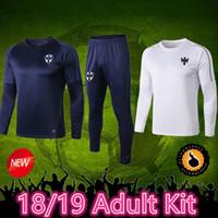 camisas por lotes al por mayor-19 camisetas de fútbol Monterrey chándal D.PABON R.FUNES MORI camiseta de fútbol 2019 Camiseta de entrenamiento de Monterrey Camiseta de tamaño mixto