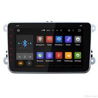 autoradio gps androïde vw achat en gros de-Quad Core 1024 * 600 2 Din Android 5.1 Autoradio Audio Lecteur de DVD de voiture Navigation GPS pour Volkswagen VW Passat Scirocco Polo (avec canbus)