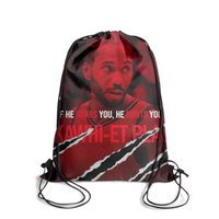 Wholesale floral knit fabric resale online - Drawstring Sports Backpack Kawhi Leonard the claw Claw mark the klawcute durable sinch sack Travel Fabric Backpack