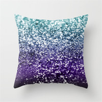 Wholesale skin printing resale online - Colorful Square Polyester Peach Skin Pillow Cases Fashion Simple Bedroom Home Hotel Soft Popular Hot Sell Pillow Case my3D1