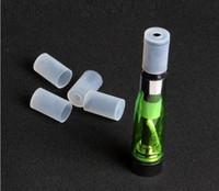 ego plastik toptan satış-EGo Plastik Testi Damla İpuçları Caps Tek Kullanımlık İpuçları Atomizer Kapak Atomizer buharlaştırıcı Kap eGo CE4 CE5 CE6 vape kalem Clearomizer e sigara