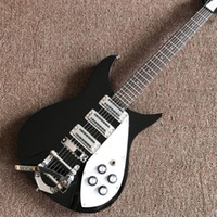 Wholesale custom fingerboards for sale resale online - Custom factory sales of the latest jazz electric guitar black mahogany fingerboard pickups vibrato system