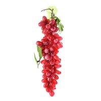 cuisine aux raisins achat en gros de-Simulation Fruits PU 110 Grain Grapes Cuisine Jouets pour enfants Enfants Pretend Play Jouets Maison Fête De Mariage Jardin Décor