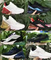 neue ankunftsmänner sommer turnschuhe großhandel-2019 Nike Air Max 270 Airmax 270 air 270 Neuheiten Männer Schuhe Schwarz Dreibettzimmer Weiß Kissen Damen Herren Turnschuhe Mode Leichtathletik Trainer Laufschuhe größe 36-45