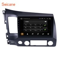 Wholesale honda civic cars dvd resale online - Seicane Inch Din Android Car Radio Quad Core HD Tochscreen GPS Multimedia Player For Honda Civic
