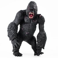 Wholesale Arrival cm King Kong Figure Toys Big Size Hand Movable Figurine PVC Action Figure Collection Model Doll