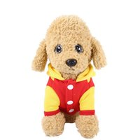 Wholesale chicken ornaments resale online - Winter Autumn Clothes For Dogs Chicken Cosplay Cotton Down Jacket Hooded Jumpsuit For Small Medium Dogs Puppy Coat For Winter