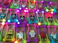 Wholesale 5.5 inch new phones resale online - New LED Light Universal Phone Cases D Cartoon Silicone PVC Phone Case Protective Soft Rubber Frame for Within inch Cell Phones A101002