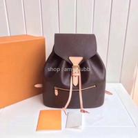 frauen leder mini rucksack handtasche großhandel-Großhandelsrucksack für Frauen orignal Rucksack-Schulterbeutelhandtasche des echten Leders presbyopic Minipaketkurierbeutel Zweiwegneu