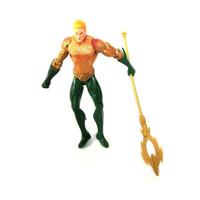 figura dos palhaços venda por atacado-7 Estilo Aquaman Figura Boneca brinquedos 2019 Novo filme crianças 17 cm Dos Desenhos Animados do Super-herói Aquaman Manta Palhaço Preto Brinquedo De Plástico D0123