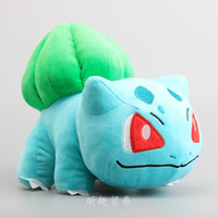 Wholesale bulbasaur plush resale online - Hot cute Bulbasaur plush toy for child best gifts inch cm
