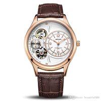 relógios originais para homens venda por atacado-Novo estilo de Boa Qualidade Relógio de Pulso Original Men Watch Top Marca de Luxo Relógios de Quartzo Relogio masculino Relógio Militar de Couro Relógio Homens