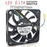 Wholesale thin copper wire resale online - Shuttle cm DA06010B12L V a wire PWM speed control ultra thin fan