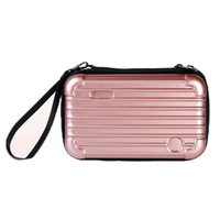 Wholesale clear mini cosmetic bags for sale - Group buy 2019 Fashion Cosmetic Bag Organizer Women Necessary Travel Beauty Make Up Cases Big Capacity Lipstick Mini Suitcase For Makeup