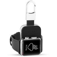 banco de energia do carregador qi venda por atacado-Bateria Externa QI Carregador Sem Fio para Apple Watch iWatch 1 2 3 Carregador Sem Fio Power Bank 950 mah Carregador Portátil Ao Ar Livre