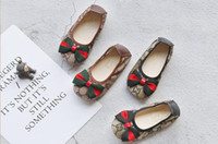 Wholesale wearing pvc dresses resale online – Designer shoes spring and autumn new girls flat shoes children waterproof lightweight wear non slip bow baby cute princess