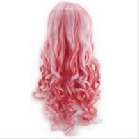 perucas misturadas venda por atacado-vento gelado Lolita colorido Lolita misturando peruca cosplay gradiente
