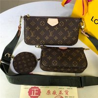 Wholesale backpack purses for women resale online - Drop Shipping Crossbody bag L Letter Woman Fanny pack Lady Designer Bags Purse Laides Handbags For Female