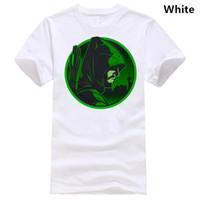 camiseta dos homens unisex venda por atacado-Arrow T-Shirt Comics Green Arrow Presente de Aniversário Unisex Adulto Crianças Tee Top