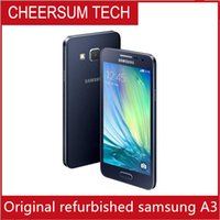 Wholesale inch android phone sale resale online - 2016 Hot Sale Smartphone Original Samsung Galaxy A3 A3000 Quad Core Android OS Inch GB ROM G MP Camera Cell Phone