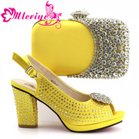 Ensemble En De Pour Femmes Gros Vente Italien Chaussures Sacs qzMjLSGUVp