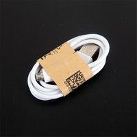 yeşil mikro usb kablosu toptan satış-Yüksek Kaliteli OD2.6 Hızlı Hızlı Şarj Şarj Kablosu 5 6 7 Artı Samsung s6 s7 Için Şarj kablosu Sync Veri Kablosu