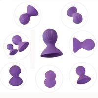 stimulate clips großhandel-Brustmassagegerät Brustclip necken stimuliert weibliche Brust-Saugvorrichtung Oralsex-Spielzeug
