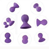 ingrosso il seno stimola-Massager del seno Tease Clip stimola il dispositivo di aspirazione del seno femminile Giocattolo del sesso orale av087