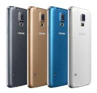 dhl 2gb koç toptan satış-Yenilenmiş Orijinal Samsung Galaxy S5 G900F G900A G900V G900T G900P 5.1 inç Dört Çekirdekli 2 GB RAM 16 GB ROM 4G LTE Unlocked Telefon DHL