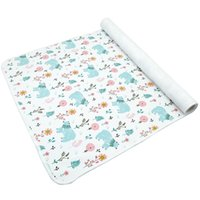 ingrosso foglio di copertura del bambino-70cm * 50cm Fasciatoio per neonati pannolini per bambini riutilizzabili pannolini per materassi per neonato elegante modello lenzuola foglio impermeabile fasciatoio