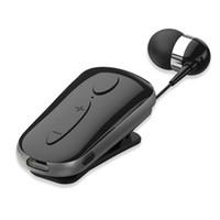 clips de auriculares bluetooth al por mayor-K36 Auricular Bluetooth Auriculares estéreo inalámbricos deportivos Auriculares Auriculares con micrófono Llamadas manos libres Recordar vibración Desgaste Controlador