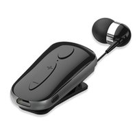 Wholesale bluetooth headset earphone clips resale online - K36 Bluetooth Earphone Wireless Sport Stereo Earbuds Headset Headphones with Microphone Hands free Call Remind Vibration Wear Clip Driver
