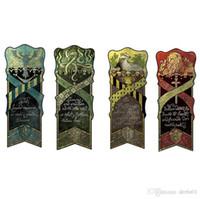 Wholesale harry potter decor for sale - Group buy 46 cm Harry Potter Gryffindor Hufflepuff Slytherin Ravenclaw Flag Hogwarts College Flag Home Decor Polyester Banner
