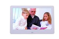 video mp3 caliente mp4 al por mayor-DHL HOT 10.1inch LCD Digital Photo Frame HD 1024x600 Reproductor de MP3 / MP4 Bluit-in multifuncional control remoto color blanco / negro