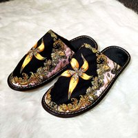 Wholesale interior decors for sale - Group buy Luxury Classic Baroque Bath Slippers Royal Fashion Designer Medusa Brand Home Hotel Shoes High End Home Interiors Creat Decor Love Gifts