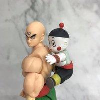 Anime S.H Figuarts Tien Shinhan /& Chaiotzu Dragon Ball Z Action Figure Toys Gift