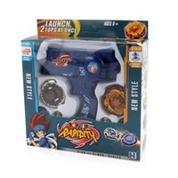Wholesale beyblade toys for sale for sale - Group buy Beyblade Fusion Toys For Sale Spinning bayblade Set gyroscope Toy with Dual Launchers Hand Spinner Metal Tops Y200428