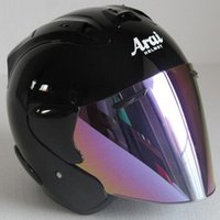 motosiklet kask boyutu s toptan satış-2019 En sıcak ARAI R3 kask motosiklet kask yarı açık yüz casque motocross BOYUTU: S M L XL XXL ,, Capacete