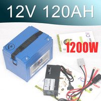 липо аккумуляторные батареи оптовых-12V литий-ионный аккумулятор 120AH большой емкости Супер 12v Lipo аккумулятор