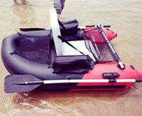 flotadores de pesca de china al por mayor-Un barco de pesca de la persona, barco barato inflable del barco de pesca del PVC hecho en China / pequeño tubo del flotador del vientre